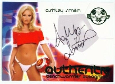 "Ashley Smith ""autograph"" Benchwarmer World Cup 06"