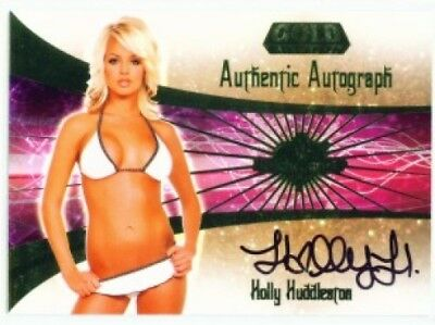 "Holly Huddleston ""autograph Card"" Benchwarmer Gold 2007"