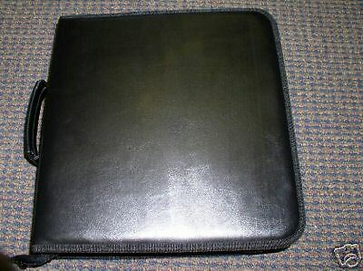 10 Cd Wallets, Leatherette, Holds 200 Cds Each - Js77