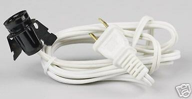 Holiday Decoration  lamp socket with 6' cord Free Ship