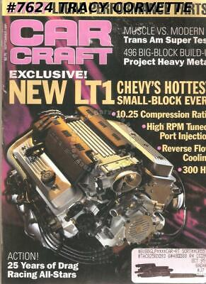 SEPTEMBER 1991 CAR CRAFT 25 YEARS DRAG RACING ALL-STARS 427-POWERED '57 FORD