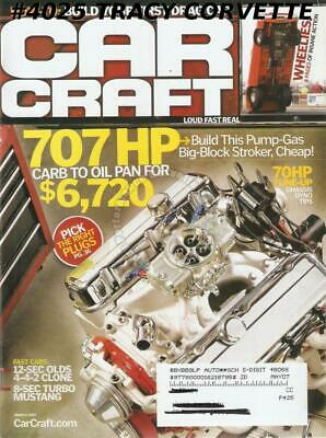 March 2007 Car Craft 8-Second Turbo Mustang 12-Second Olds Big Red Chevelle