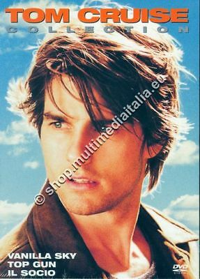 Tom Cruise Collection - Cofanetto 3 Dvd Nuovo!