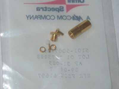 NEW! Gold SMB plug Cable Mt. RF Connector 5101-5007-09