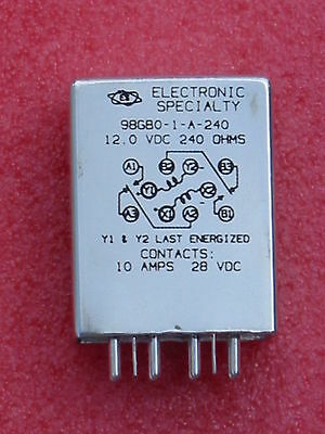 Electronic Specialty Corp 98GB0-1-A-240 Latching Relay