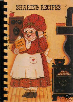 WINCHESTER IN 1983 VINTAGE *SHARING RECIPES COOK BOOK *MAIN STR CHRISTIAN CHURCH
