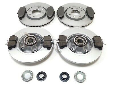 Peugeot 3008 Front & Rear Brake Discs And Pads Wheel Bearings Abs Rings