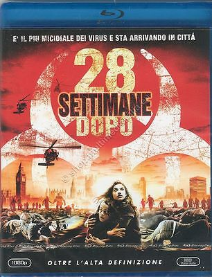 28 Settimane Dopo 28 Weeks Later Blu Ray Disc Nuovo New