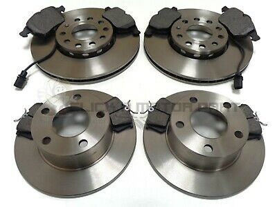 AUDI A 6 A6 97-04 C5 1.8 1.8T 1.9 TDi 2.0 FRONT & REAR BRAKE DISCS AND PADS NEW