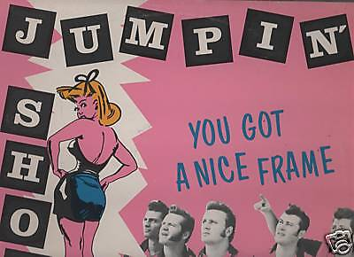 JUMPIN' SHOES -YOU GOT A NICE FRAME yeob 001 LP 1988 IT
