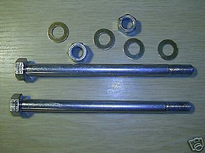 LAND ROVER SERIES BULKHEAD TIE BOLTS WITH WASHERS and NUTS