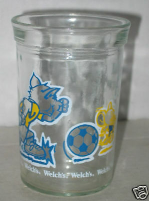 Tom & Jerry Soccer Glass