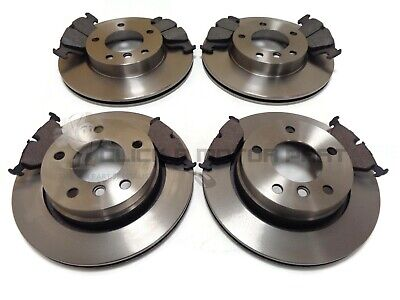 Bmw E46 320 320D Touring 2001-2005 Front & Rear Brake Discs And Pads Set New