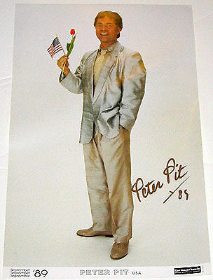 AUTOGRAPHED: Peter Pit Poster