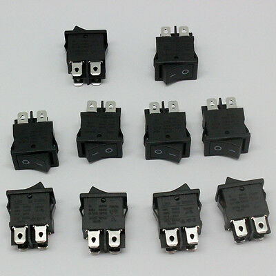 10 units of RS601D  ROCKER SWITCHES  6(4)A 250VAC 6A/125A 250VAC rocker SWITCH r