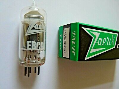 EBC91 6AV6 Z&I  New Old Stock Valve tube 1 pc