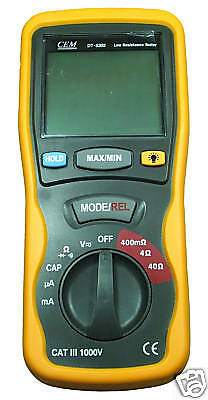 New Digital Earth Resistance Tester Dt5302 Up To 40Mω