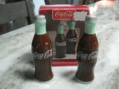 New Coca Cola Bottles  Salt & Pepper Shaker Set