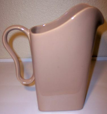 FRANCISCAN POTTERY TIEMPO PEBBLE LARGE PITCHER!