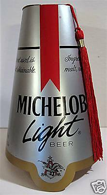 1987 Michelob Beer Shriners Fez Hat W/ Tassle Old Stock