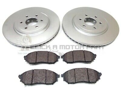 FOR NISSAN PATHFINDER 2.5 DCi 2005-2014 FRONT 2 BRAKE DISCS AND PADS SET (320MM)