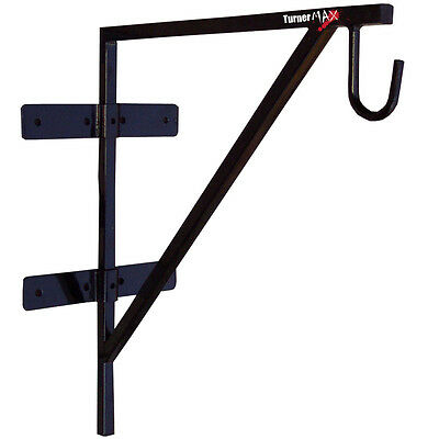 TurnerMAX Heavy Duty Boxing Punch bag wall Brackets Gym Fitness  Complete sets