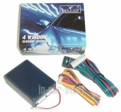 4 Window Closure Rollup Module for Car Alarm Universal Total Closure Interface