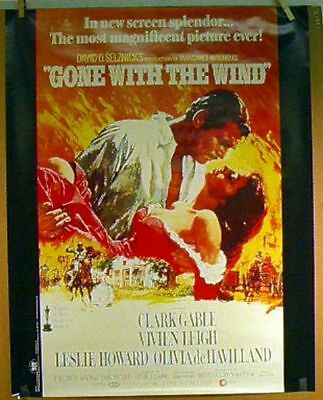Gone With the Wind Movie Poster- Reprint- ROLLED