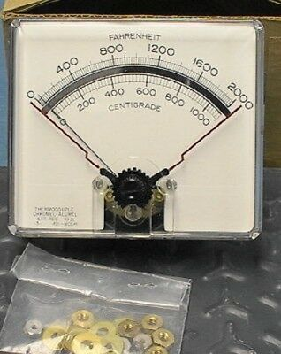 Analog Thermocouple gauge readout/controller typeK 2000