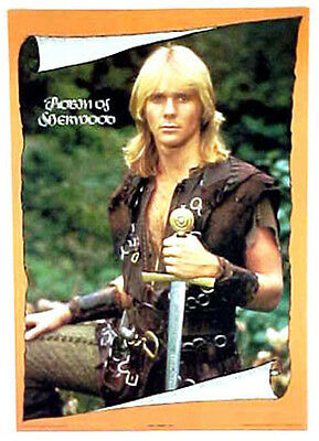 Robin Hood of Sherwood TV Poster- Jason Connery-Rolled