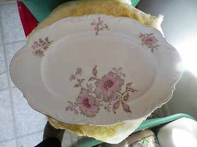 Mitterteich16 oval platter (Dogwood) 1 available