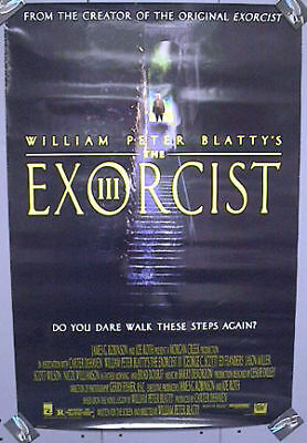 1-Sheet Movie Poster 1990 EXORCIST III