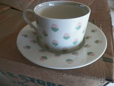 Fitz and Floyd cup and saucer (Chantilly) 8 available