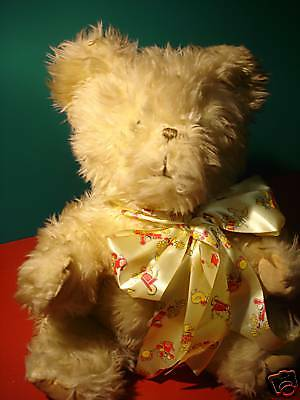 """Vintage 15"""" to 18"""" Seated bear."""