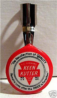 Simmons Keen Kutter Hardware Adv Pencil Clip Old Stock