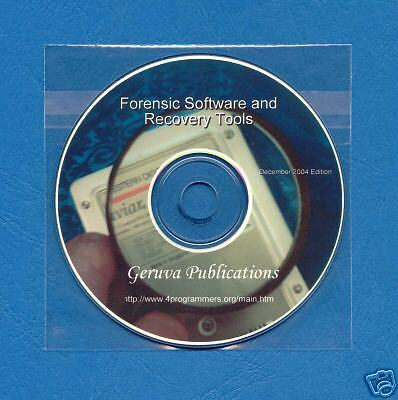 Computer Disk Forensic/Evidence/Recovery Software CD