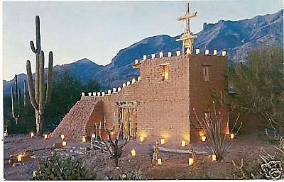 Mission in the Sun Santa Catalina Mtns Tucson AZ PC