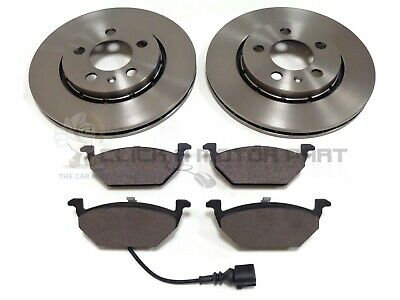 Seat Ibiza 1.2 1.4 1.6 2002-2008 Front 2 Brake Discs And Pads Set New