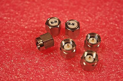 Lot of 6 NEW SMA Terminations DC to 2.5 GHz, 50Ω, Res-Net XE-28; FREE SHIP
