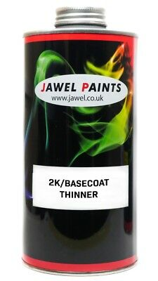 2K Thinner For Acrylic and Basecoat Car Paint Universal (SLOW) 1Litre