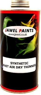 CAR PAINT THINNER Synthetic (TRUCKCOAT) Fast Dry 1lt
