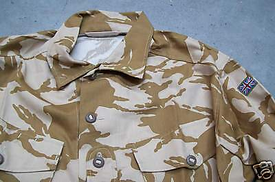 NEW 2005 Gulf British Army Issue Desert Camo Shirt - Size 180/104