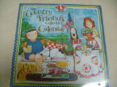 2005 Gooseberry Patch Country Friends Wall Calendar MIP