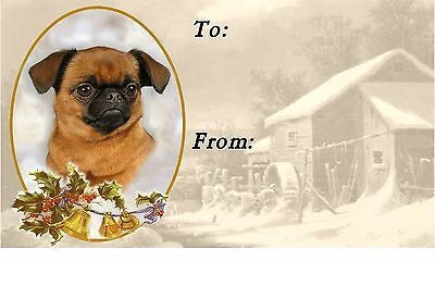 Griffon Christmas Labels by Starprint - No 1 - Auto combined postage