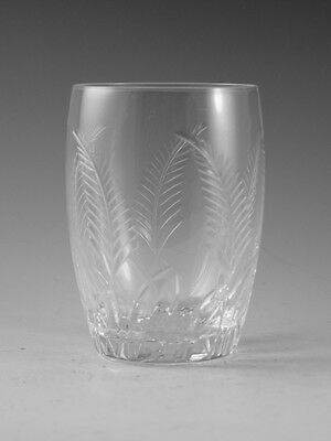 STUART Crystal - ELLESMERE Cut - Tumbler Glass / Glasses - 3 1/4""