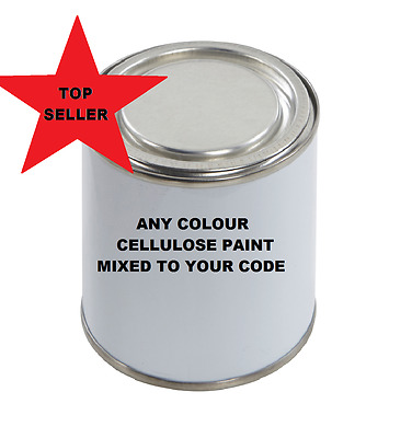 Cellulose Car Paint Gloss 500ML any Colour Solid VAN CAR STEEL METAL