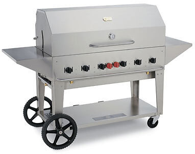 BBQ GRILL MCB-48 Crown Verity Barbecue w/ cover