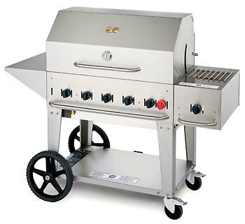 BBQ GRILL MCB-36 Crown Verity Barbecue w/ cover