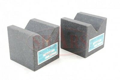 Granite V Blocks In Matched Pairs 3X3X3--Acc.0001