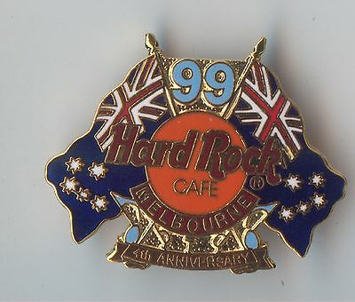 Hard Rock Cafe Melbourne 4th Anniversary Pin